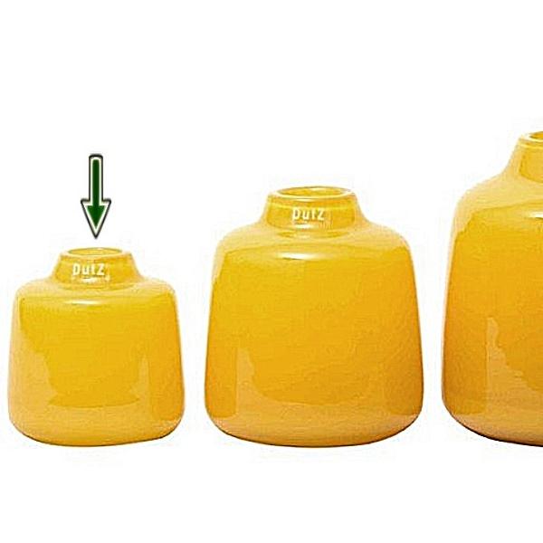 ProPassione DutZ®-Collection Vase Tisza, H 15 x Ø 14 cm, Ochreous Preisvergleich