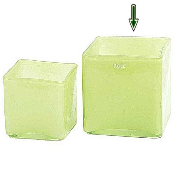 ProPassione DutZ®-Collection Vase Square, L 18 x B 18 x H 18 cm, Hellgrün Preisvergleich