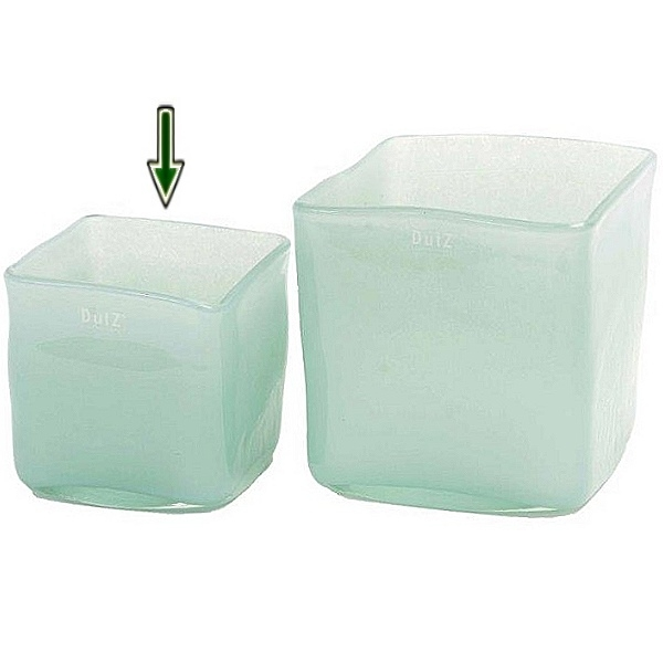 ProPassione DutZ®-Collection Vase Square, L 14 x B 14 x H 14 cm, Hellblau Preisvergleich