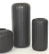 Design Carved Glass Grey