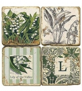 Coasters with Monograms