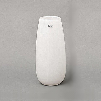 Collection DutZ® Vase Robert, h 37 x Ø 11 cm, blanc