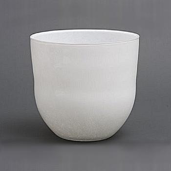 DutZ®-Collection Vase Anton, h 29 x Ø 29 cm, white