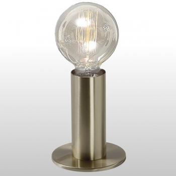 Edgar Design table lamp Sol, Antique Brass, 3-level touch dimmer, incl. spherical Edison-Lightbulb E27/40W, h 24 x Ø 11 cm