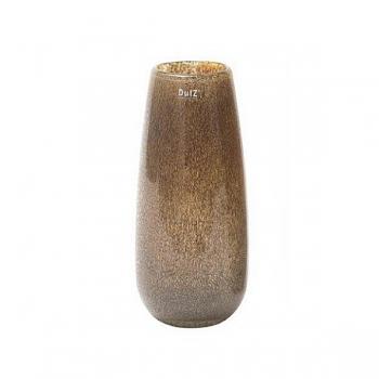 DutZ®-Collection Vase Robert, h 37 x Ø 11 cm, silver/brown with bubbles