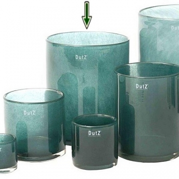 Collection DutZ® vase Cylinder, H 25 x Ø 20 cm, pin