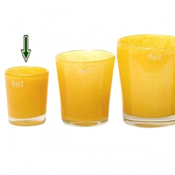 DutZ®-Collection Vase Conic, H 11  x  Ø.9.5 cm, Ochreous