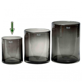 DutZ®-Collection Vase Cylinder, H 19 x Ø 15 cm, Smoke