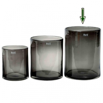 DutZ®-Collection Vase Cylinder, H 30 x Ø 22 cm, Smoke