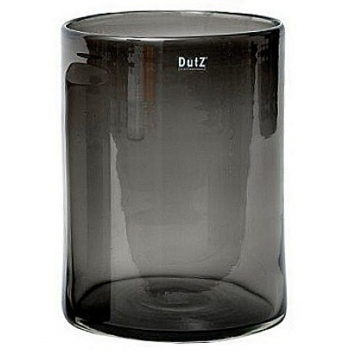 DutZ®-Collection Vase Cylinder, H 40 x Ø 22 cm, Smoke