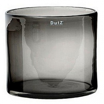 DutZ®-Collection Vase Cylinder, H 35 x Ø 35 cm, Smoke