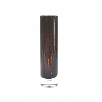 Henry Dean Vase Pipe M, H 25 x Ø 6 cm, Brunette