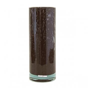 Henry Dean Vase Cylinder, H 32 x Ø 12 cm, Brunette
