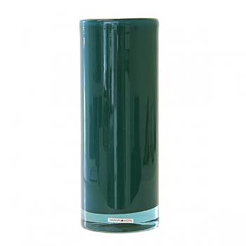 Henry Dean Vase Cylinder, H 32 x Ø 12 cm, Teal