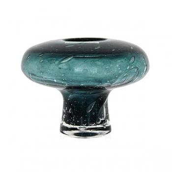 Henry Dean Vase Cato mit Fuß, H 11 x Ø 12 cm, Jasper