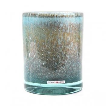 Henry Dean Vase/Windlicht Cylinder, H 16,5 x Ø 13,5 cm, Lanai