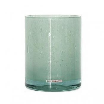 Henry Dean Vase/Windlicht Cylinder, H 16,5 x Ø 13,5 cm, Mint