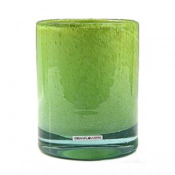 Henry Dean Vase/Windlicht Cylinder, H 16,5 x Ø 13,5 cm, Limon
