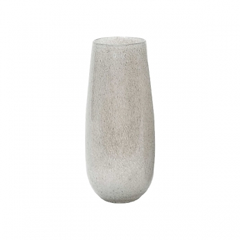 DutZ®-Collection Vase Robert, H 37 x Ø 11 cm, Mittelgrau