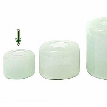 DutZ®-Collection Vase Mira, h 13 x Ø 17 cm, mint