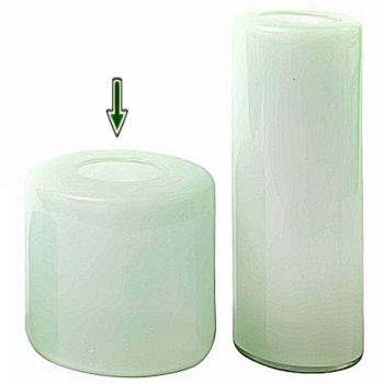DutZ®-Collection Vase Mira, H 30 x Ø 30 cm, Menthol