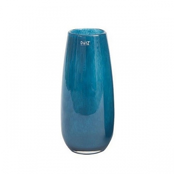 DutZ®-Collection Vase Robert, H 37 x Ø 11 cm, Navy Blau