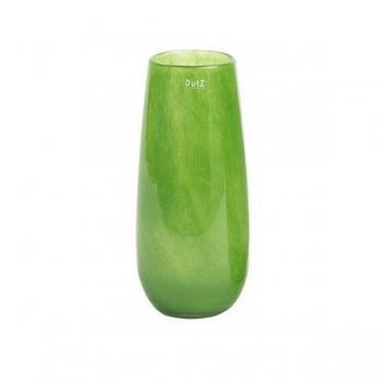 DutZ®-Collection Vase Robert, H 37 x Ø 11 cm, Dschungelgrün