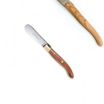 Laguiole butter spreader, l 14.5 cm, olivewood