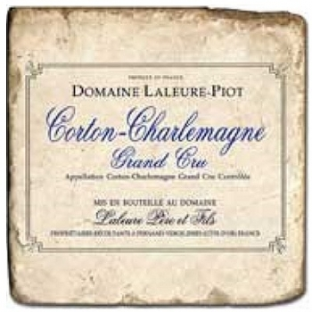 Marble Tile, Theme: French Wine Labels 4 B, antique finish, hanger, anti slip nubs, Dim.: l 20 x w 20 x h 1 cm