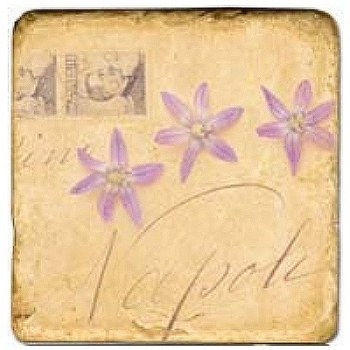 Marble Tile, Theme: Love Letters 1 B, antique finish, hanger, anti slip nubs, Dim.: l 20 x w 20 x h 1 cm
