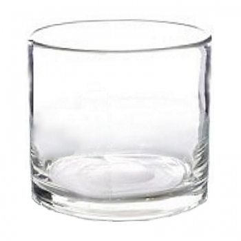 Collection DutZ® vase/récipient cylindrique, h 27 x Ø 27 cm, Colori: transparent
