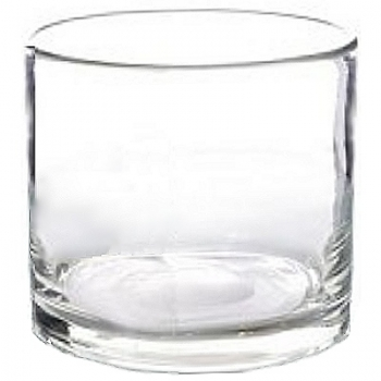 Collection DutZ® vase/récipient cylindrique, h 35 x Ø 35 cm, Colori: transparent