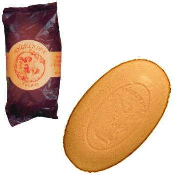 Angel' Spa Tuscany, Caring Soap, Scent: Ylang Ylang/Tangerine, 225 g soap bar in light protection foil