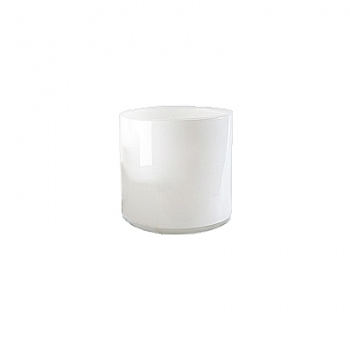 DutZ®-Collection Cylinder Bowl, high, h 14 x Ø 14 cm, white