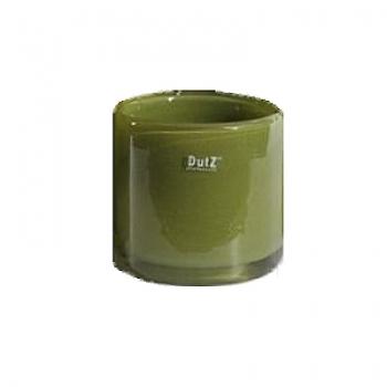 DutZ®-Collection Cylinder Bowl, high, h 18 x Ø 18 cm, colour: green