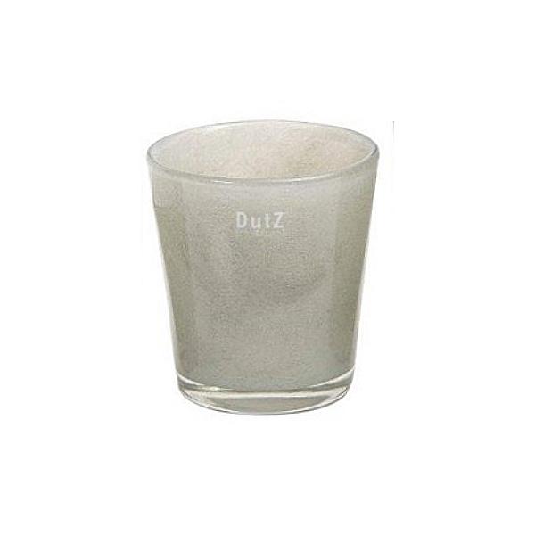 DutZ®-Collection Vase Conic, H 17  x  Ø.15 cm, Hellgrau