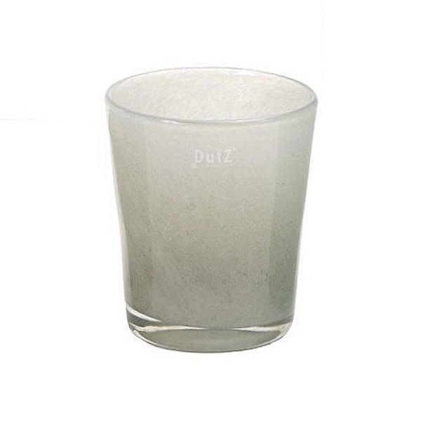 DutZ®-Collection Vase Conic, H 23  x  Ø.20 cm, Hellgrau