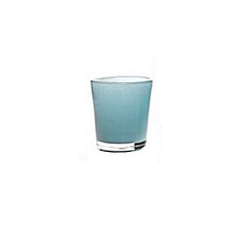 Collection DutZ® vase Conic, h 11 x Ø 9.5 cm, aqua