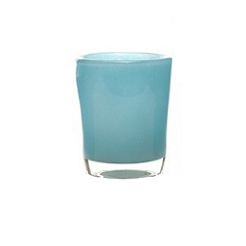 Collection DutZ® vase Conic, h 17 x Ø 15 cm, aqua