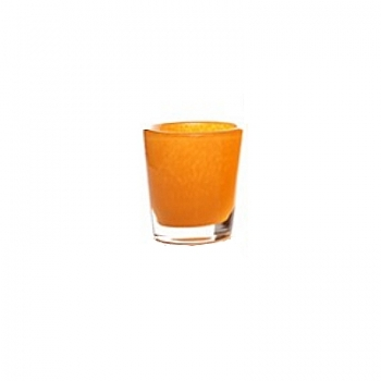 DutZ®-Collection Vase Conic, H 11  x  Ø.9.5 cm, colour: orange