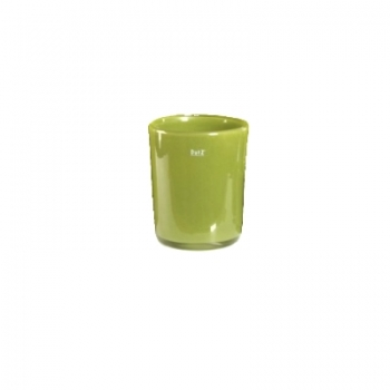 Collection DutZ® vase Conic, h 11 x Ø 9.5 cm, Colori: vert