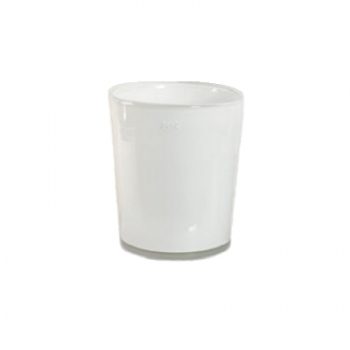 DutZ®-Collection Vase Conic, h 17  x  Ø.15 cm, colour: white
