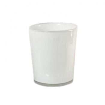 Collection DutZ® vase Conic, h 23 x Ø 20 cm, Colori: blanc