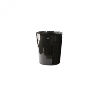DutZ®-Collection Vase Conic, H 11  x  Ø.9.5 cm, colour: black