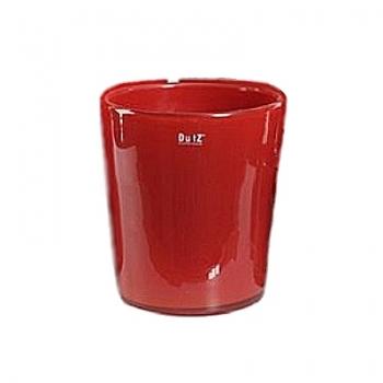 DutZ®-Collection Vase Conic, h 23  x  Ø.20 cm, colour: red