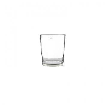 Collection DutZ® vase Conic, h 11 x Ø 9.5 cm, Colori: transparent