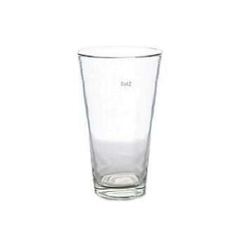 DutZ®-Collection Vase Conic, h 27  x  Ø.16 cm, colour: clear