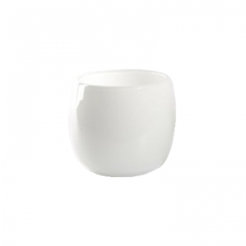 DutZ®-Collection Vase Pot, h 14 x Ø 16 cm, colour: white