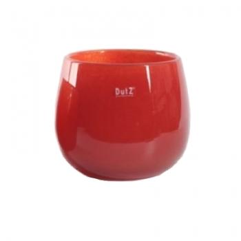 Collection DutZ® vase/récipient Pot, h 18 x Ø 20 cm, Colori: rouge