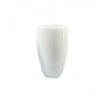 DutZ®-Collection Flower Vase, h 32 x Ø 21 cm, colour: white